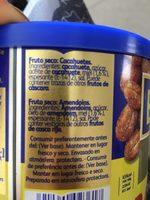 Cacahuète au miel - Ingredientes