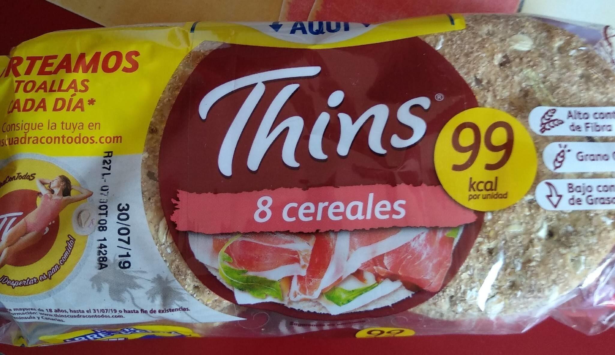 Sandwich pan con cereales bajo grasa rico fibras completo - Producto - es