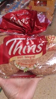 Sándwich Thins integral - Producto