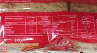 Thins - Informations nutritionnelles - es