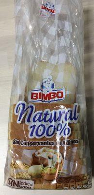 Bimbo Natural 100% - Producto