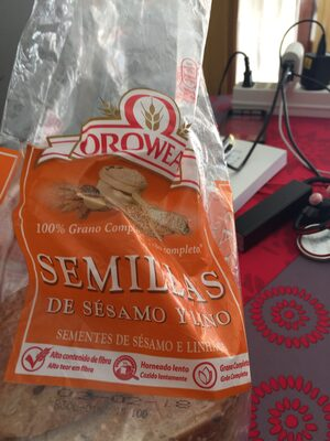 Pain complet semilllas de sésamo y lino - Product - es