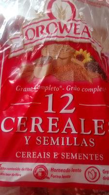 Oroweat 12 cereales y semillas - Produit - fr