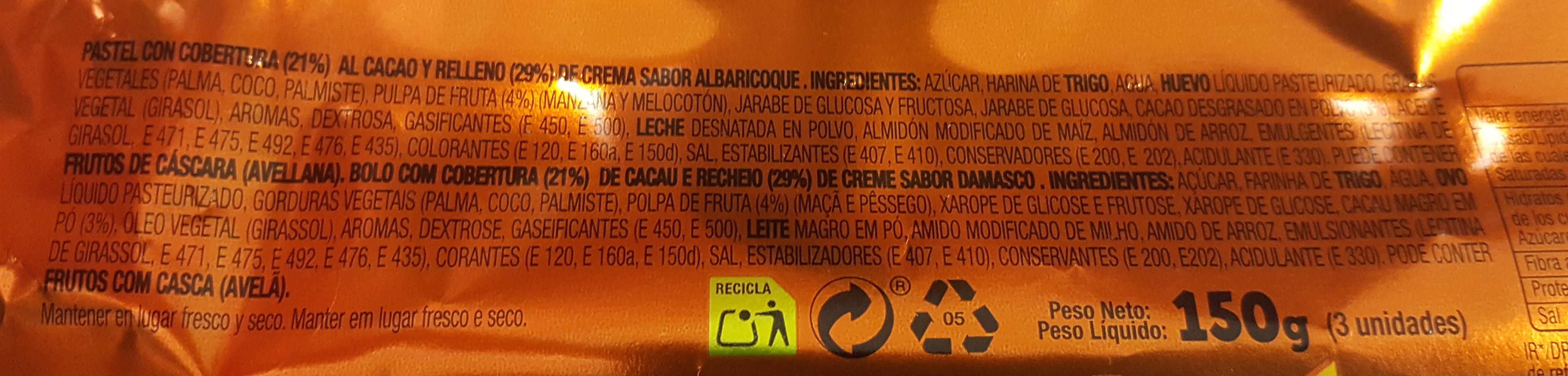 Tigretón - Ingredients