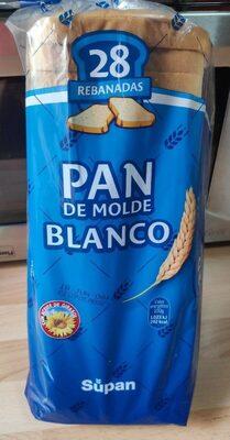 Pan de molde blanco - Producto - es