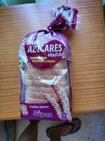 Pan de molde con harina integral sin azúcares añadidos - Produit