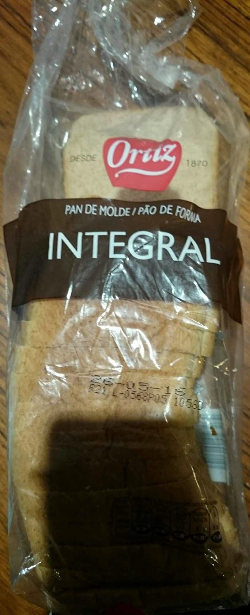 Pão de Forma Integral - Product