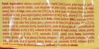 Bony - Ingredientes - fr