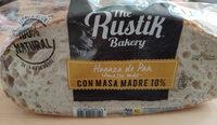Hogaza de pan con masa madre 10% - Product - es