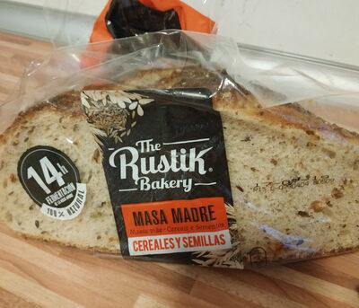 Pan natural de masa madre y cereales - Producto