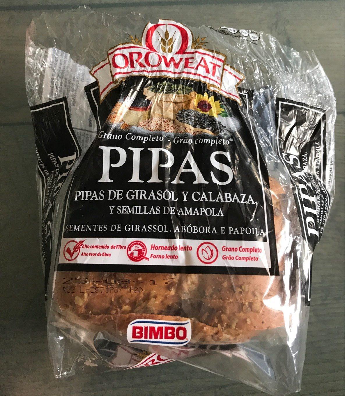Pan de Pipas de Girasol y Calabaza Oroweat - Producto - es