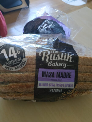The rustik bakery - Producto