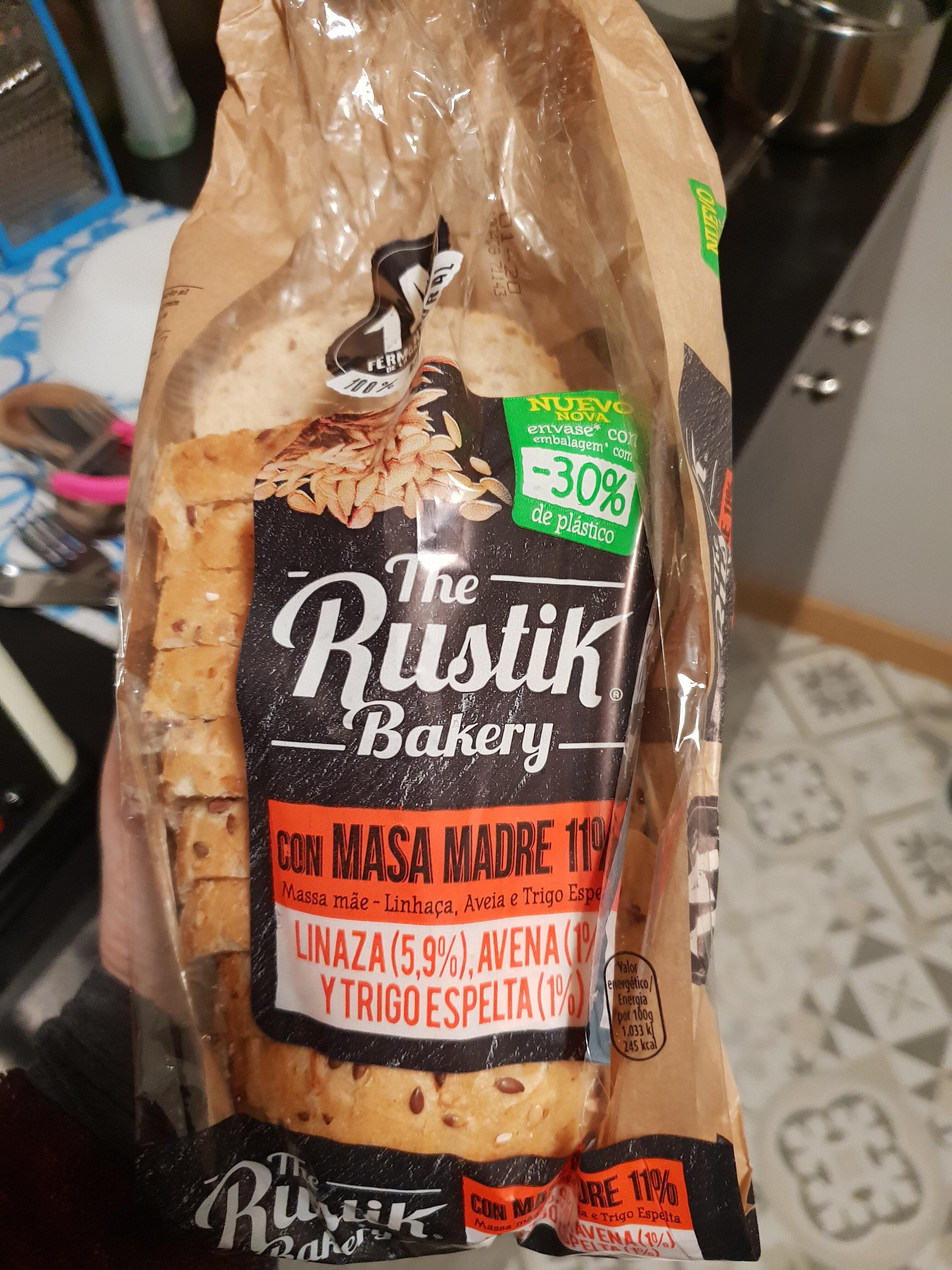Bimbo Rustik Barra Masa Madre Cereales Y Semillas - Producto