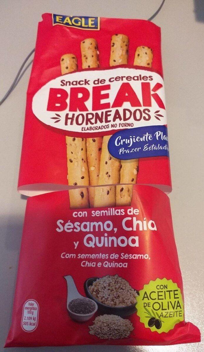 Snack de cereales break - Producte - es