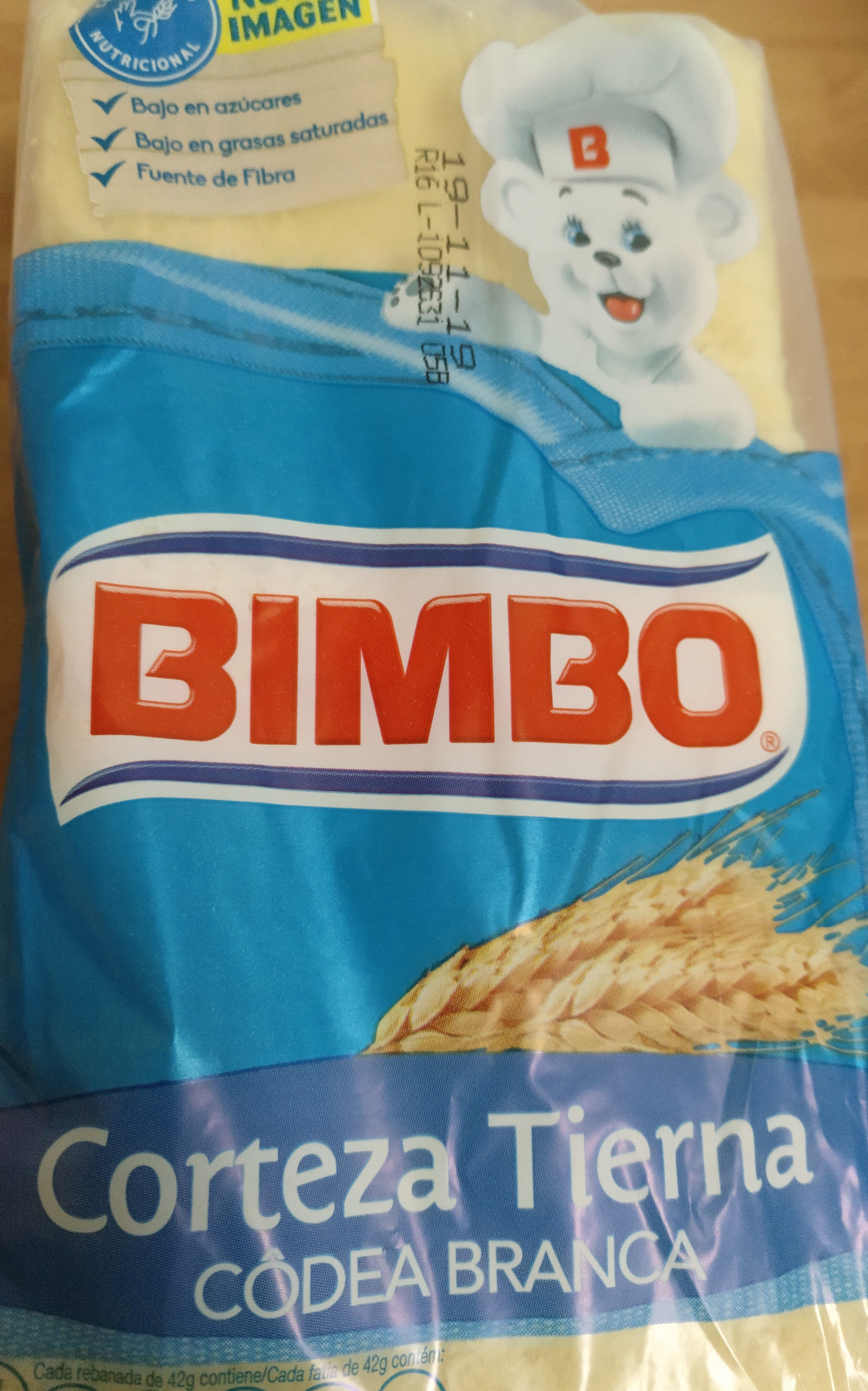 Pa De Motlle Amb Escorça Blanca De Bimbo - Producto - es