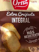 Pan Tostado Integral 30 Rebanadas Ortiz - Product - es