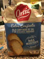 Pan tostado extracrujiente bajo de sal y sin azúcares añadidos - Producto - es