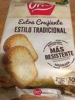Pan Tostado Estilo Tradicional - Producto