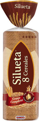 Silueta pan de molde integral cereales completo - Produit - es