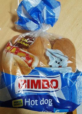Pan Para Hot Dogs De Bimbo - Producto - es