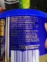 cacahuetes miel y sal - Ingredients