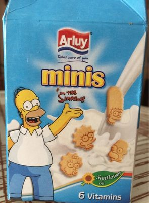 Minis the Simpsons - Product