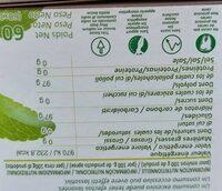 STEVIA - Nutrition facts - es