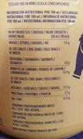 Cacaolat Original - Informations nutritionnelles - es