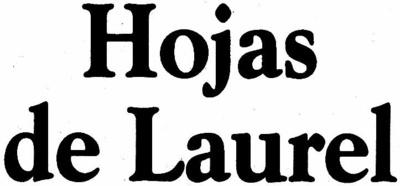 Hojas de Laurel - Ingredients