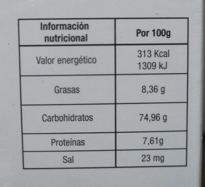 Hojas de Laurel - Informació nutricional