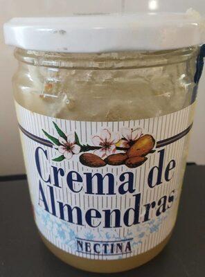 Crema de almendras - Producto - es