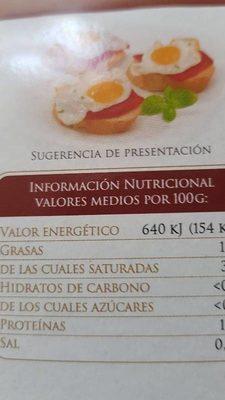 Huevos de codorniz - Ingrediënten