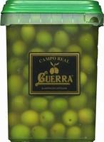 """Aceitunas verdes enteras """"Guerra"""" Variedad Campo Real - Producto"""