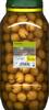 Aceitunas verdes partidas aliñadas. Variedad Aloreña de Málaga - Producte