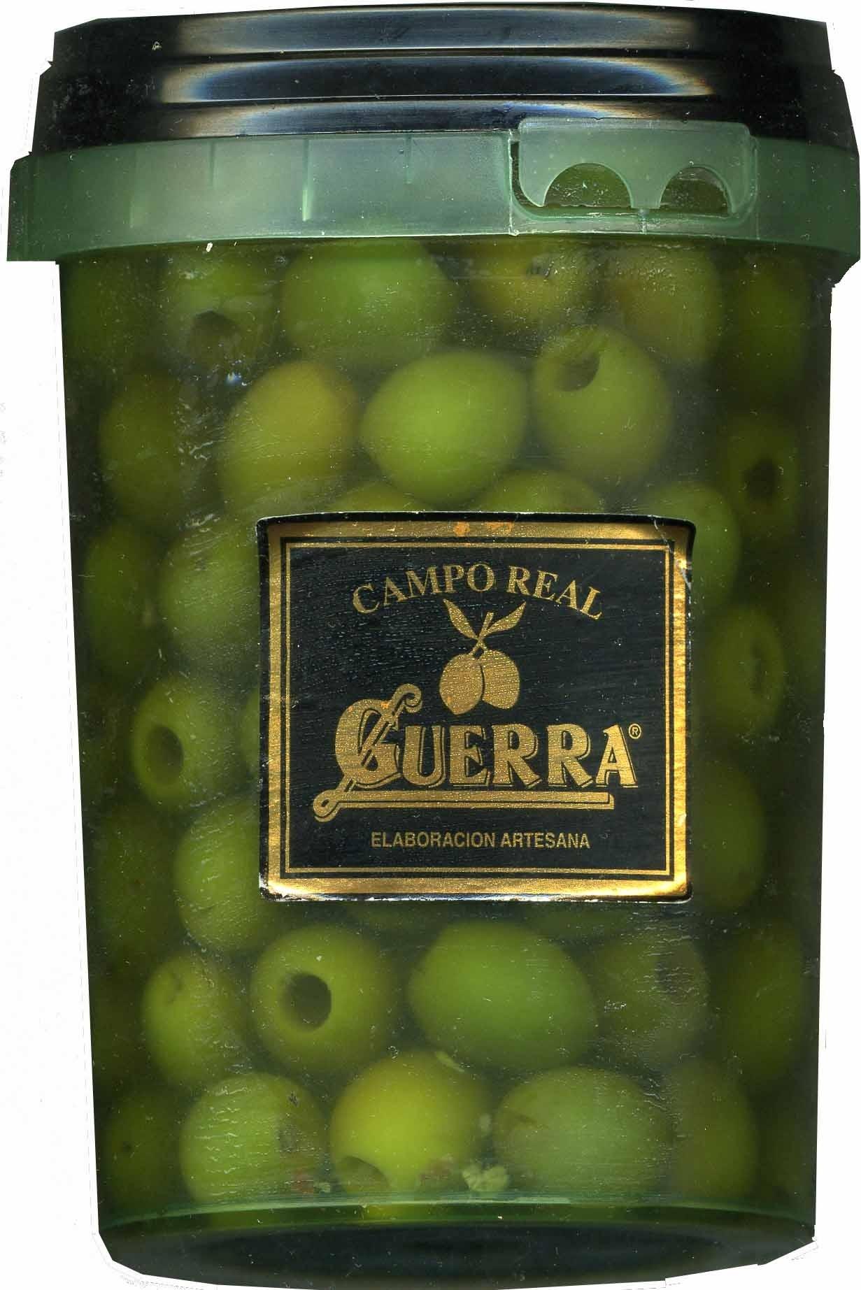 Aceitunas manzanilla de Campo Real sin hueso envase 700 g - Producto - es