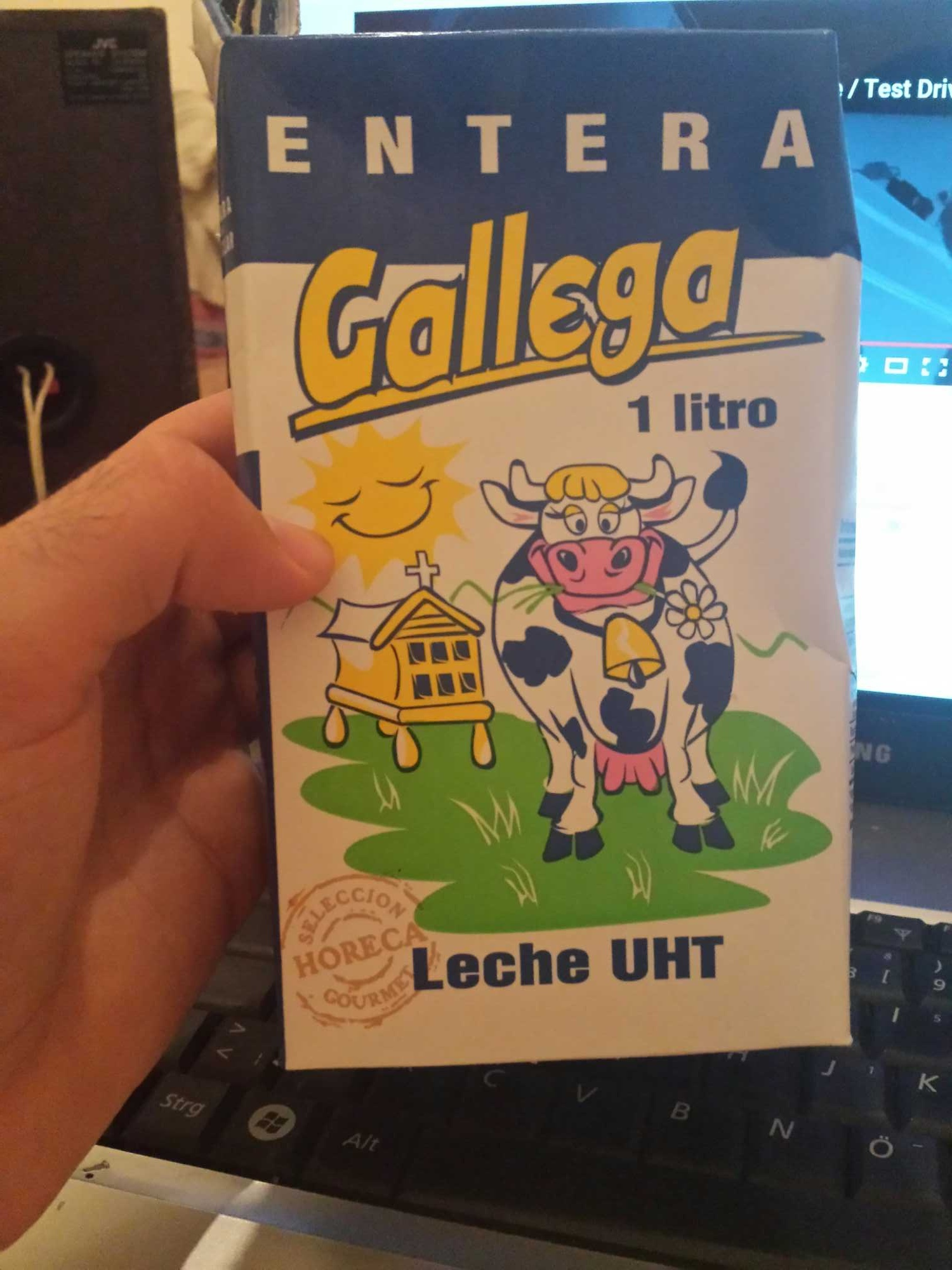 LECHE GALLEGA CLASICA ENTERA BRICK-1 LITRO - Producto - fr