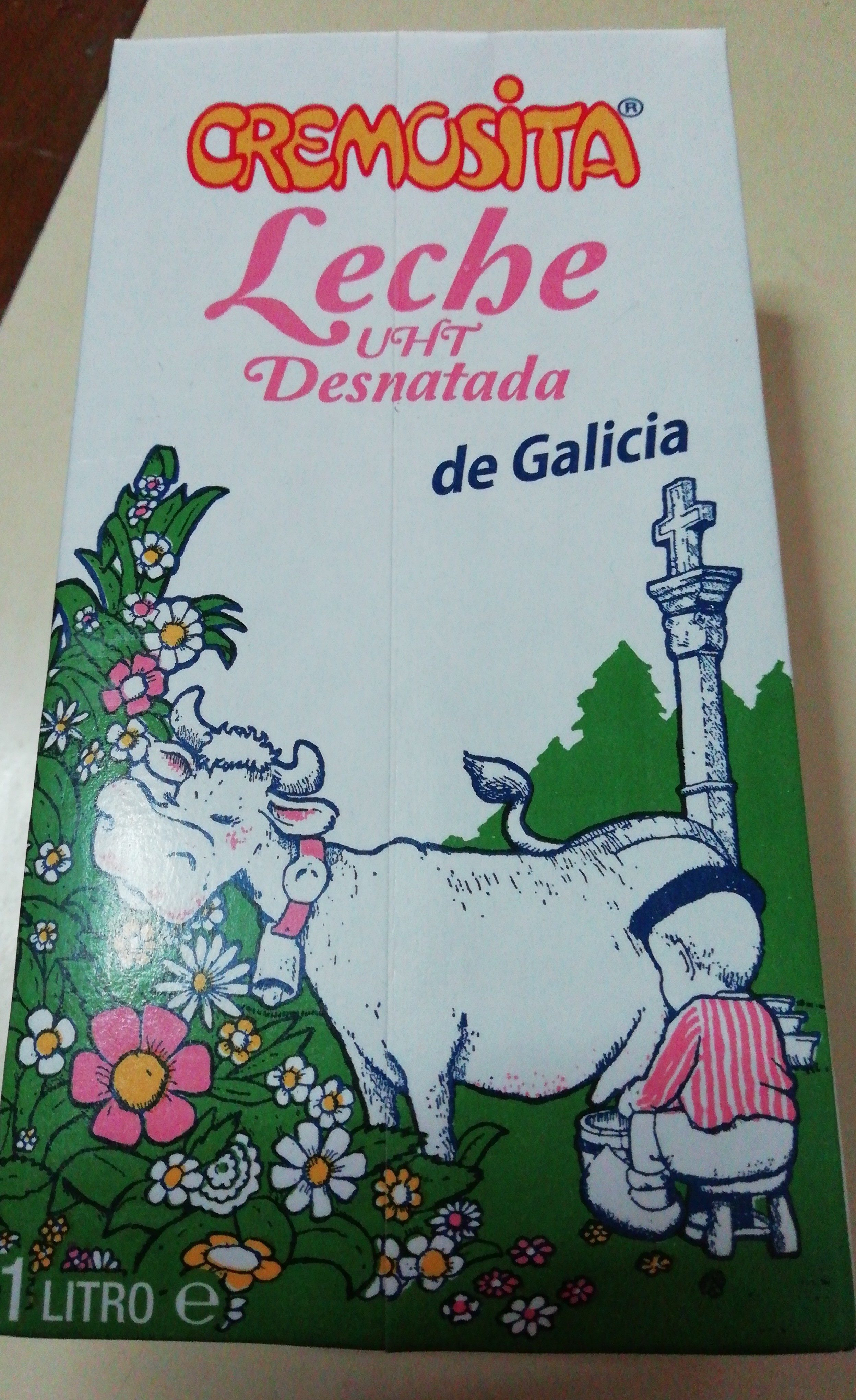 Leche desnatada de Galicia - Producto - es