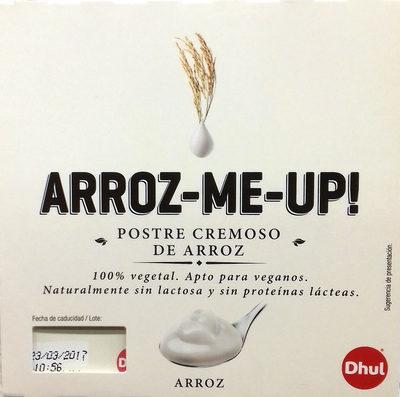 Postre cremoso de arroz - Producte