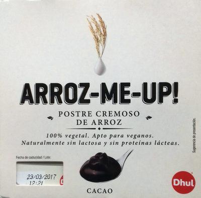 Postre cremoso de arroz Cacao - Producto - es