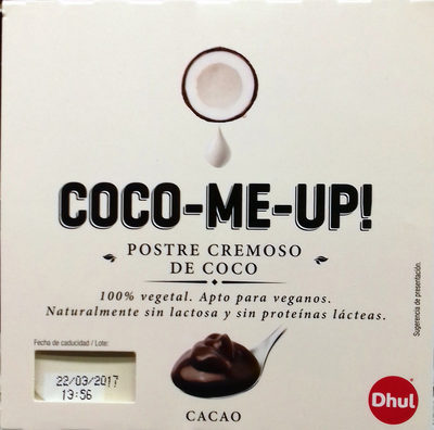 Postre cremoso de coco Cacao - Product - es