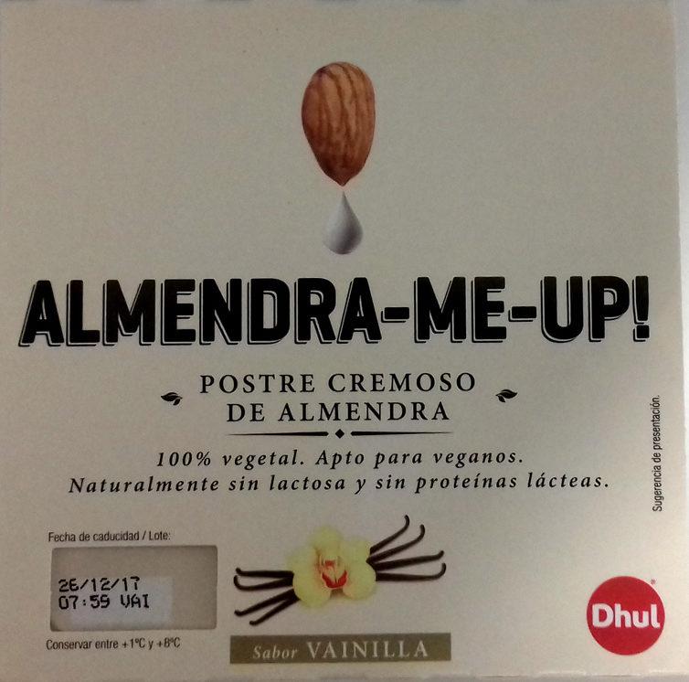 Almendra-Me-Up! Postre cremoso de almendra sabor vainilla - Produit - es