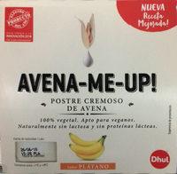 Postre cremoso de avena Plátano - Produit - es