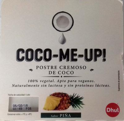 Postre cremoso de coco Piña - Producto