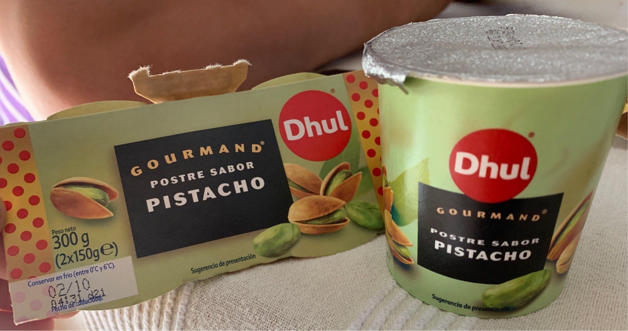 Gourmand pistacho - Producte