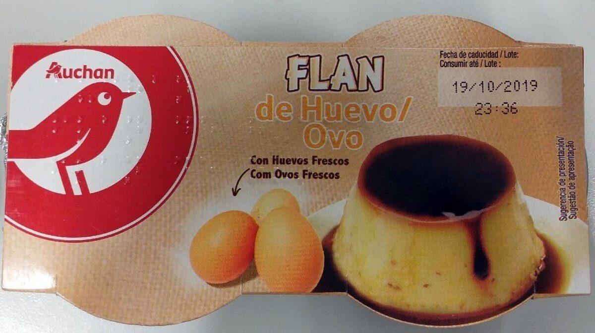 Flan de huevo - Prodotto - es