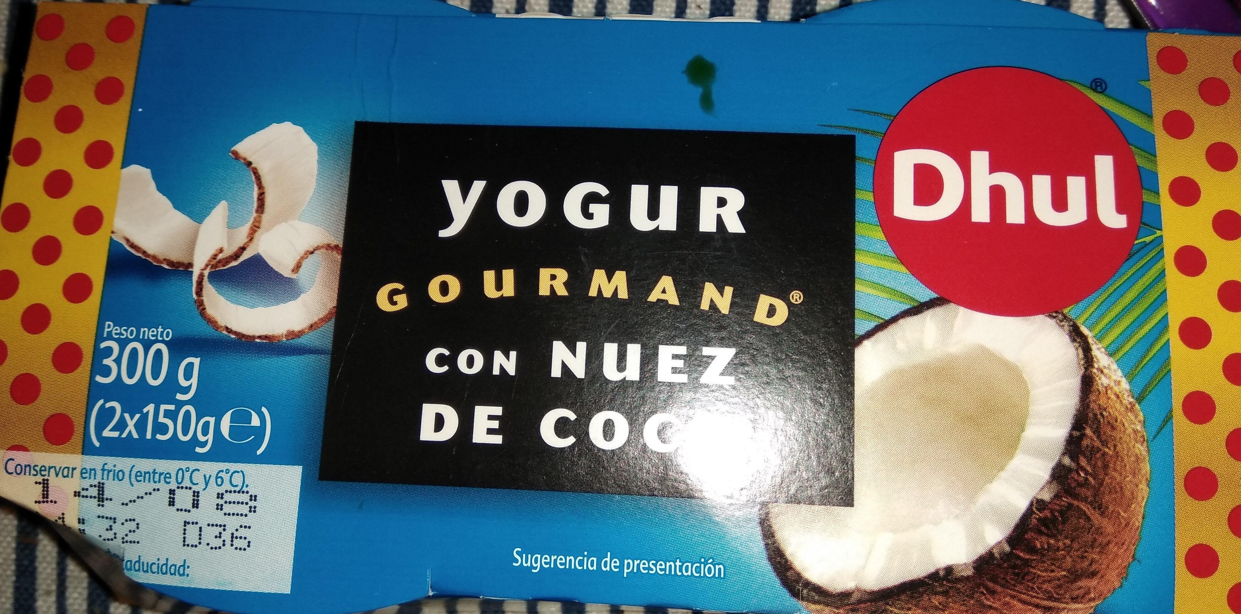 Yogur Gourmand - Producto - es
