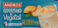 Gourmand & Vegetal Cremoso de coco melocotón - Producto - es