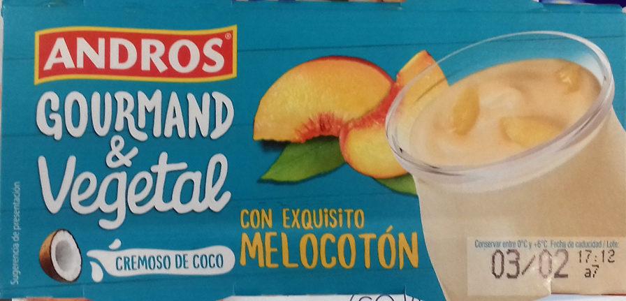 Gourmand & Vegetal Cremoso de coco melocotón - Product - es