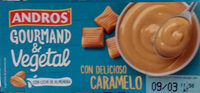 Gourmand & Vegetal con leche de almendra y delicioso caramelo - Producto - es