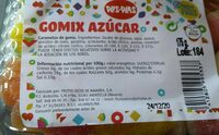 Gomix azúcar - Product - fr